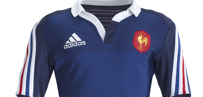 L'équipe Maillot France Adidas De Nouveau Le Dévoile Rugby N80nwvm