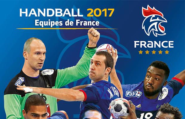 Couverture Album Panini equipe de france de handball