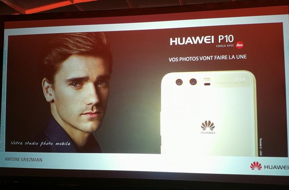 Huawei P10 Antoine griezmann