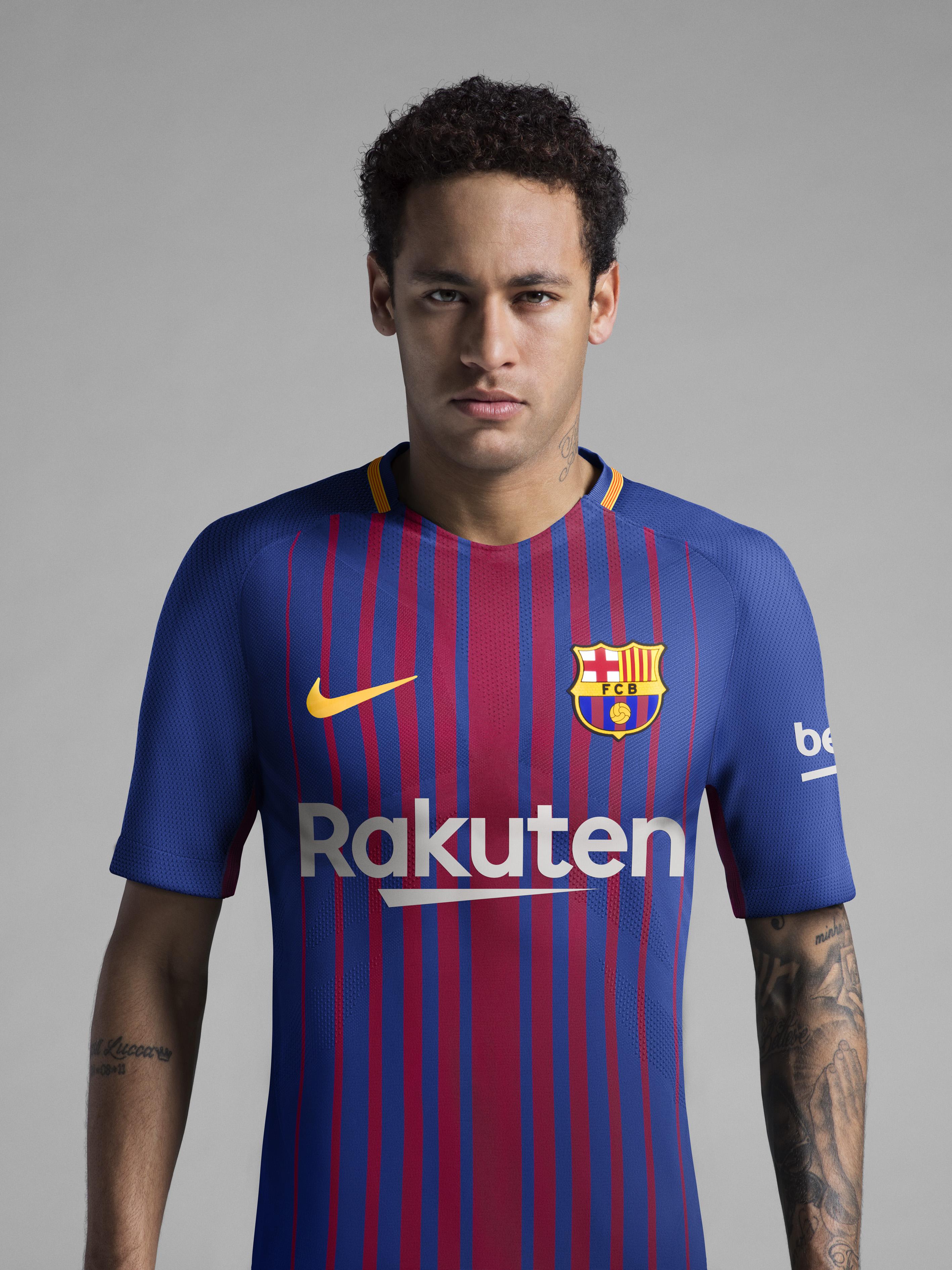 Maillot Nike Football FC Barcelona Neymar 2017-2018