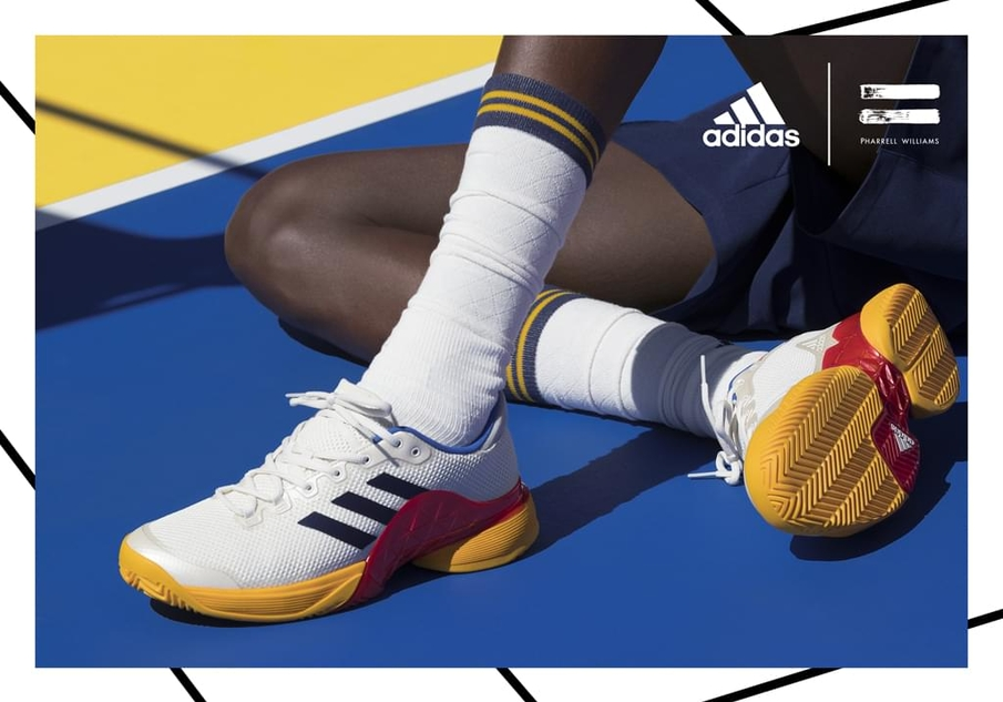 Chaussures De Tennis Adidas Barricade 2017 Pharrell Williams