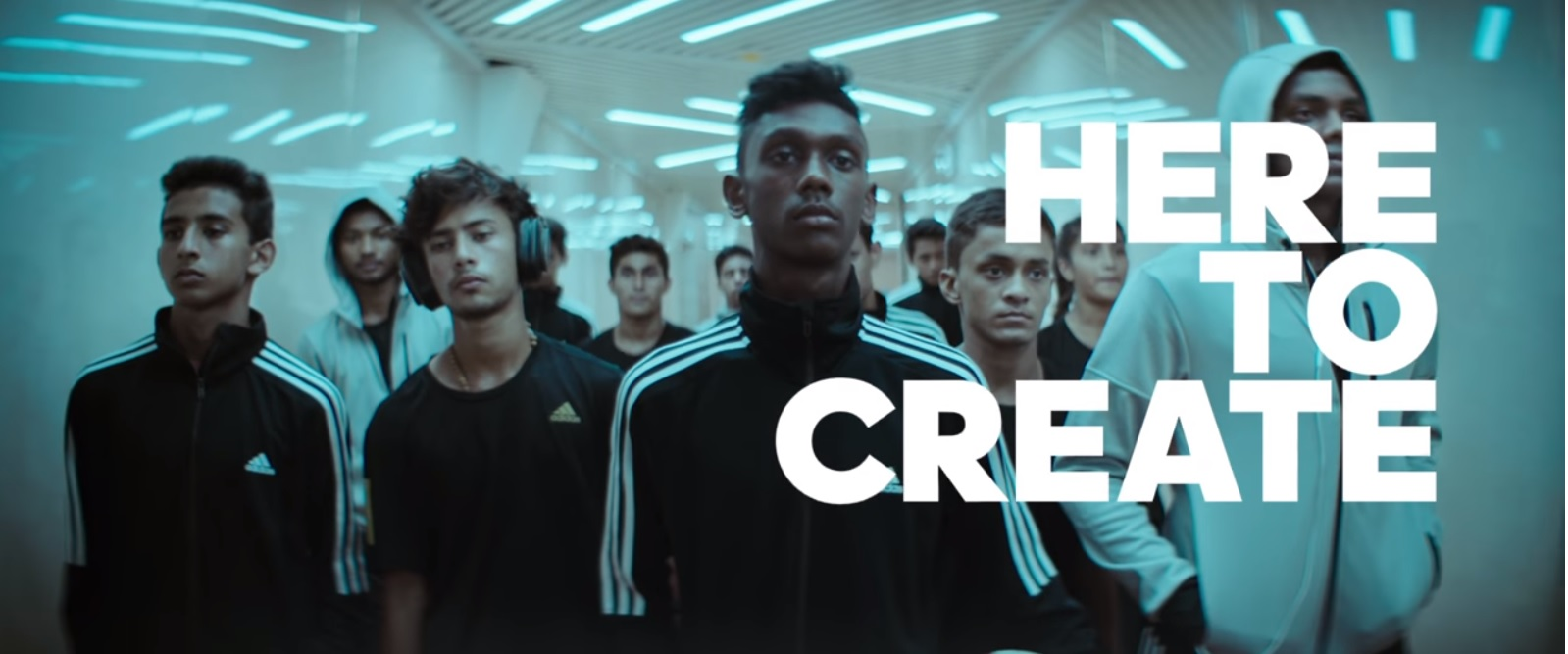 adidas - Here To Create - FIFA World Cup U17 - India
