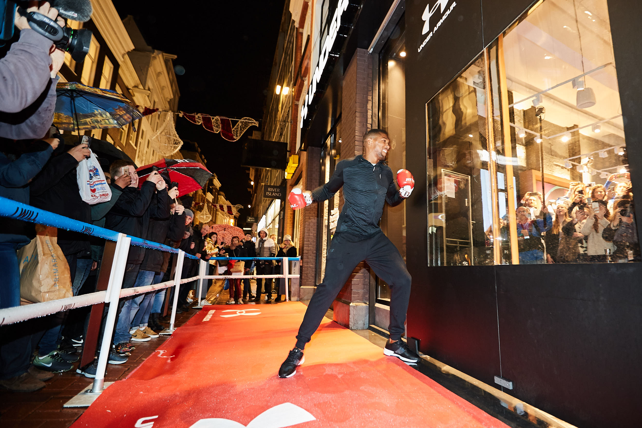 Under Armour_Amsterdam House of Brand_Anthony Joshua