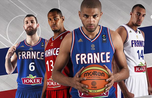 57a34c69ade9d Les nouveaux maillots de l'équipe de France de Basketball par adidas ...