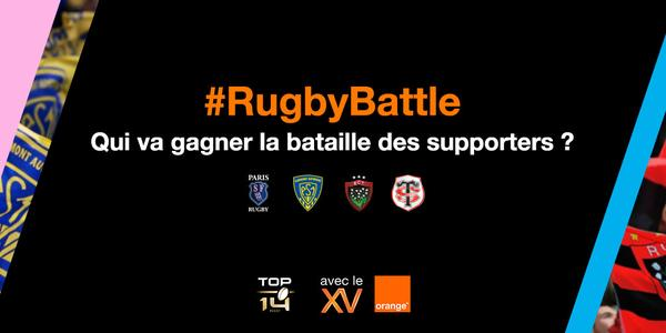 #RugbyBattle Orange Avec le XV