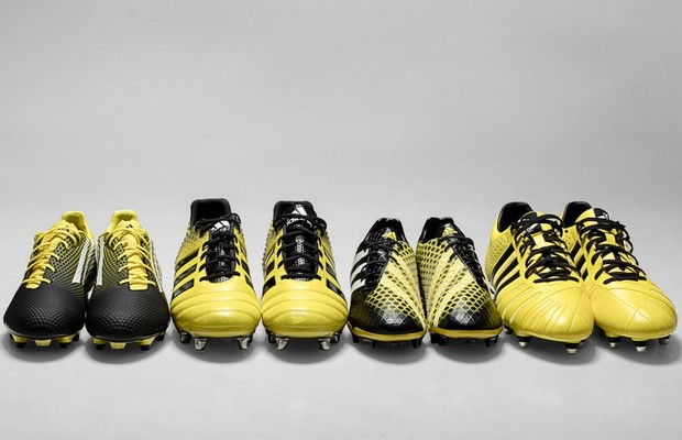 Electric Boot Range 2.0, la nouvelle gamme rugby by adidas
