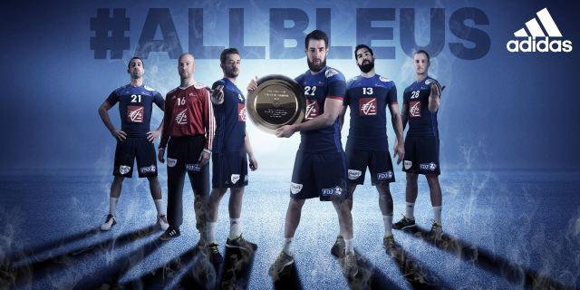 Le L'equipe 2016 Nouveau Handball France Pour De Maillot IEW9YD2eH