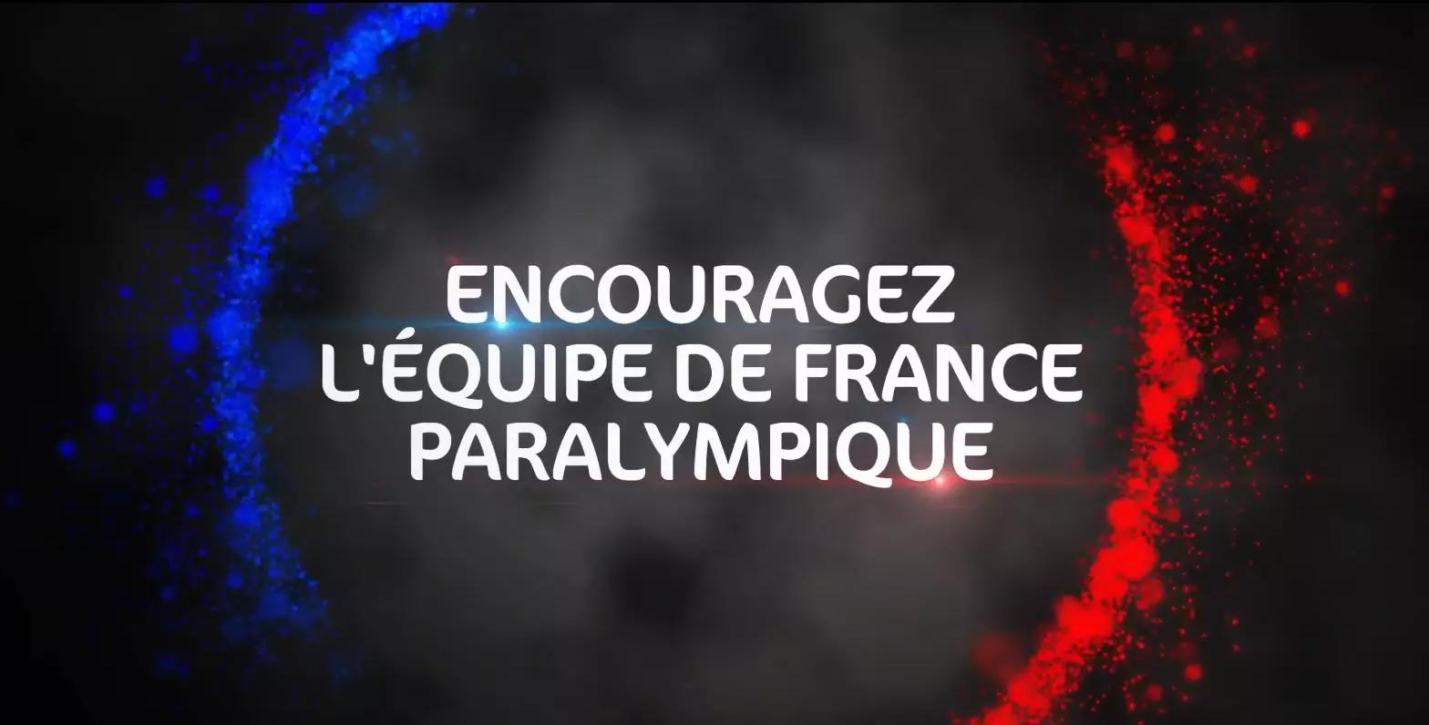 Equipe de France paralympique film EDF