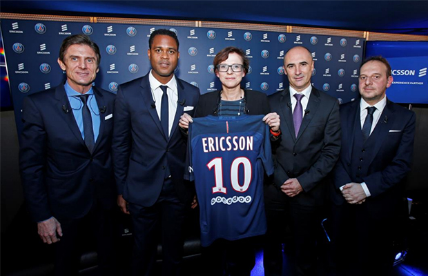 Ericsson paris saint-germain