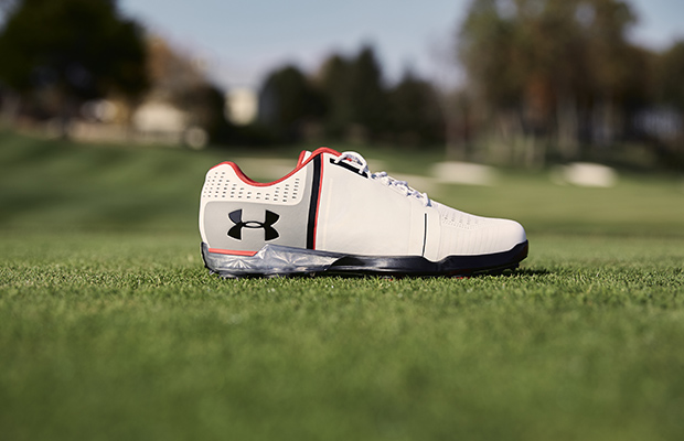 jordan spieth one under armour golf shoe