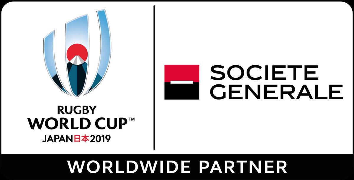 Société Générale Sponsor Coupe du Monde Rugby 2019