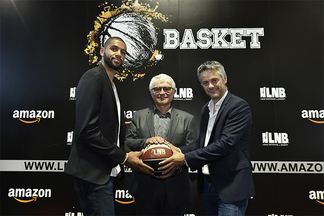 Amazon partenaire Ligue Nationale de Basket-ball