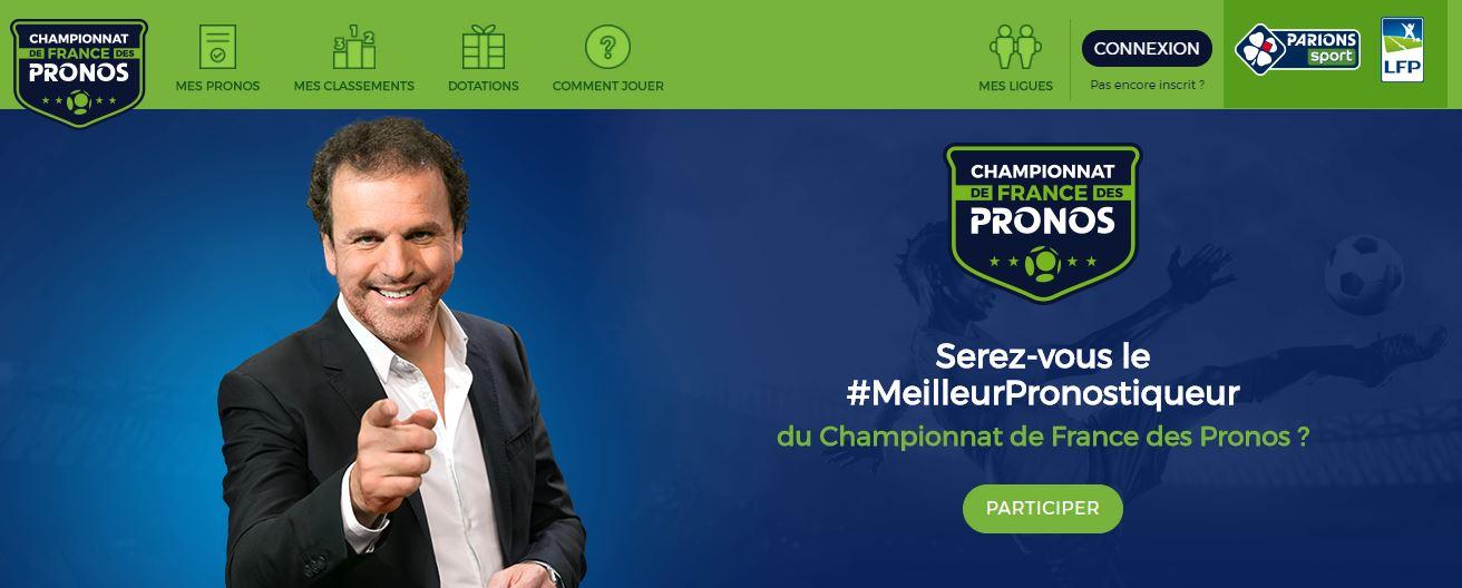 Championnat France des Pronostics - FDJ - Ligue 1 Ligue 2