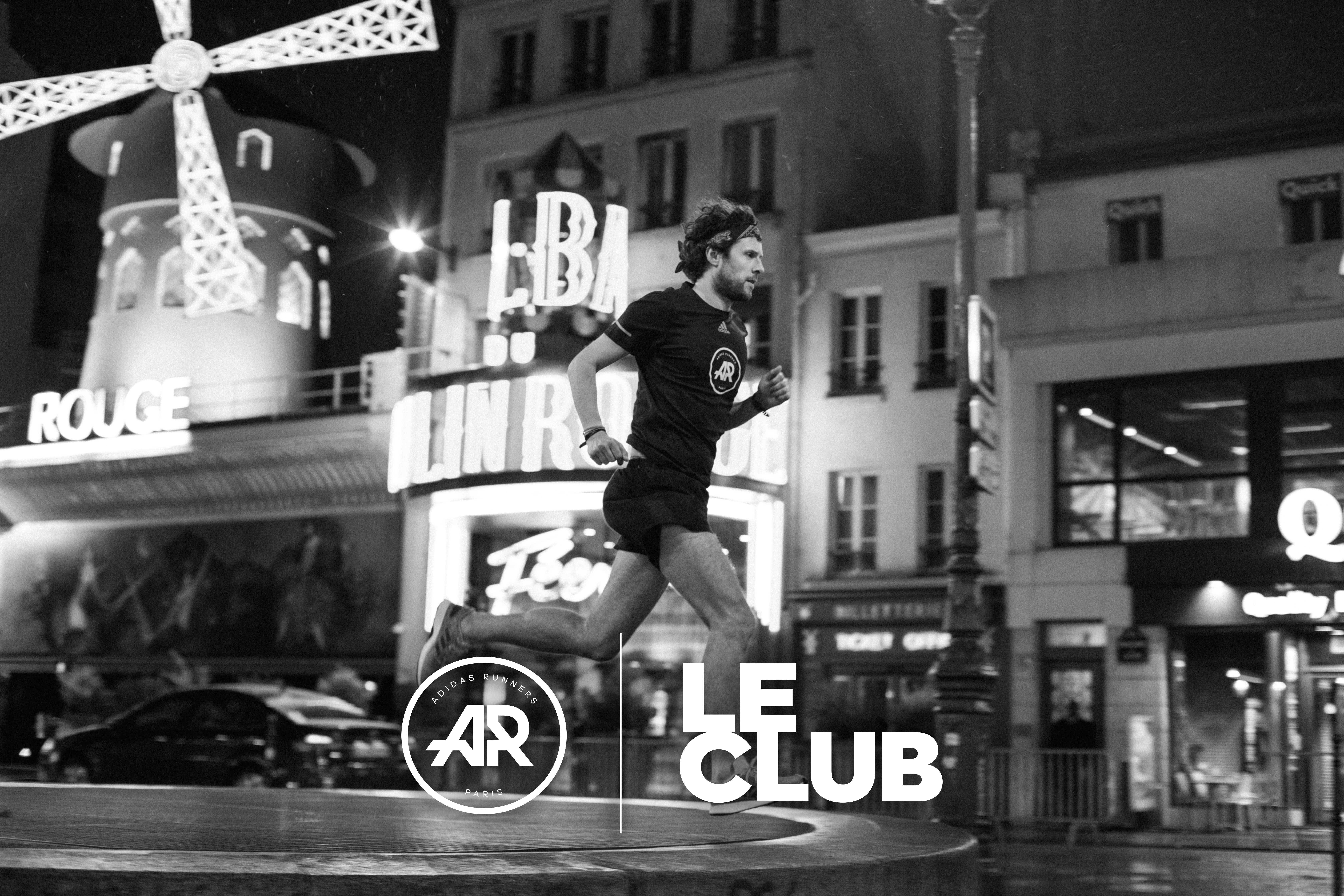 adidas Runners paris Le Club