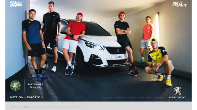 PEUGEOT TENNIS - VISUEL 2018 - DRIVE TENNIS - WILLIE BEAMEN